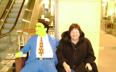 Lego man and Mrs